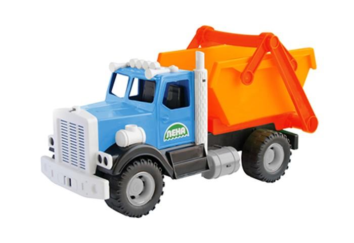 Машины Лена Самосвал для мусора 40 см машины лена самосвал карьерный 57005 05250