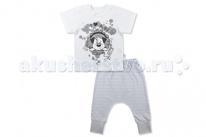 Лео Комплект Ажурное лето (футболка и штанишки) Комплект Ажурное лето (футболка и штанишки)