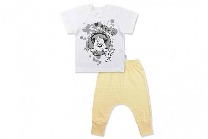 Комплекты детской одежды Лео Комплект Ажурное лето (футболка и штанишки) крестильный комплект для малышей лео