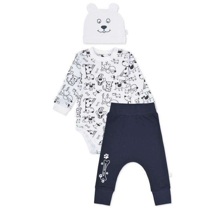 Комплекты детской одежды Лео Комплект Best friends (боди, штанишки и шапочка) 1004А-8