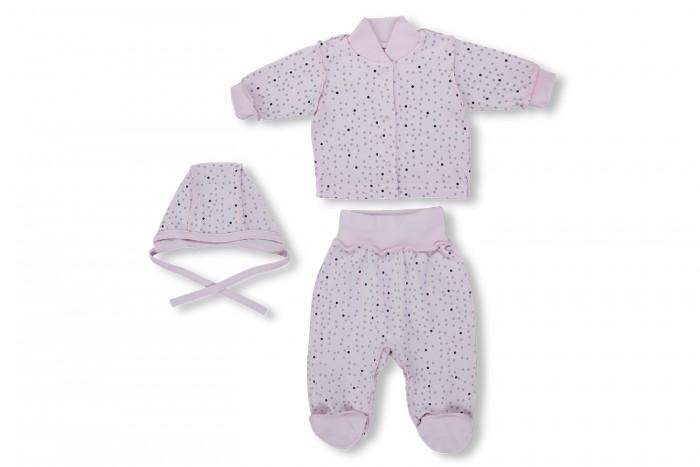 Комплекты детской одежды Лео Комплект Бисер (кофточка, ползунки и чепчик) балетки instreet балетки