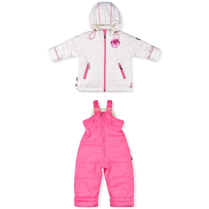 Лео Комплект для девочки (куртка и полукомбинезон) 1079д