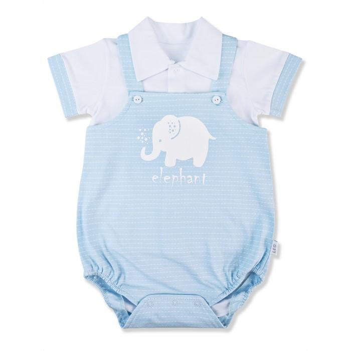 Картинка для Лео Комплект (футболка, песочник) Слоненок