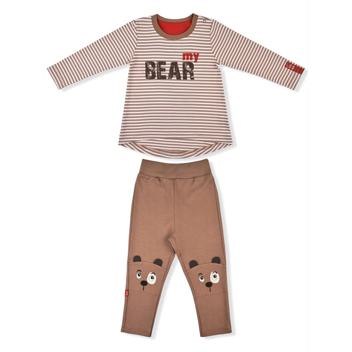 Лео Комплект (туника, брючки) Bear