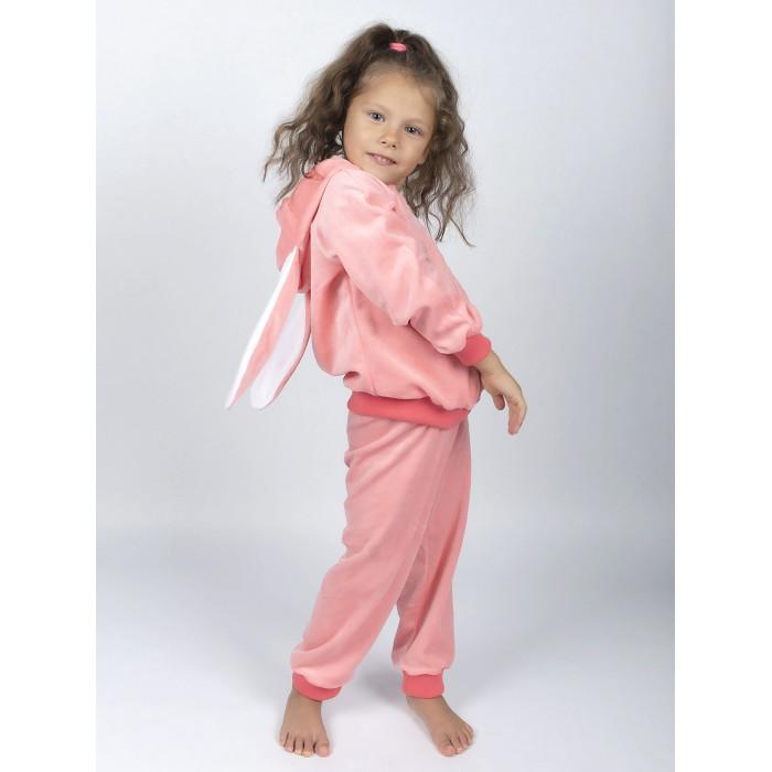 Лео Костюм для девочки Ушастик (кофточка и брюки) 3011А