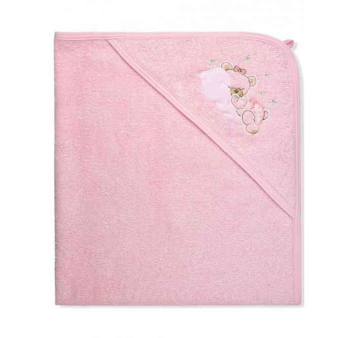 Полотенца Лео Пеленка-полотенце махровая Мишка на облаке 95х95 см семена космея махровая психе 0 2г