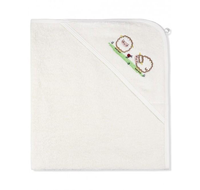 Лео Пеленка-полотенце махровая На лугу 95х95 см