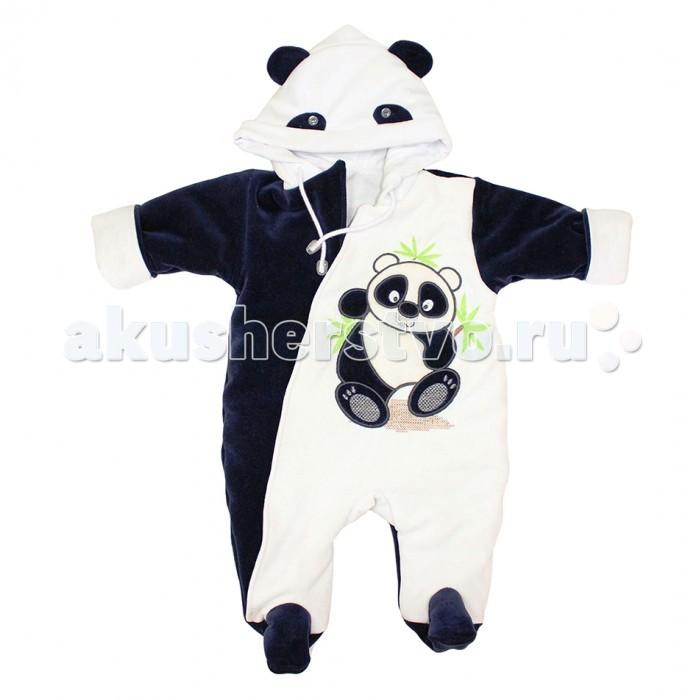 Лео Комбинезон Панда велюровый 1182Комбинезон Панда велюровый 1182Лео Комбинезон Панда велюровый 1182   Уютный демисезонный пухлик для прогулок Панда.  Нежная подкладка из кулира комфортна для кожи малыша, а само изделие довольно объемно, благодаря чему комбинезон можно носить дома и в теплую погоду, а так же при низких температурах, комбинируя с дополнительным слоем одежды.   Объемный декор аппликацией с вышивкой, гипоаллергенные кнопки без содержания никеля. На капюшоне декоративные ушки.  Состав: верх-велюр (хлопок 82% пэ18%), подкладка-  хлопок 100%, утеплитель синтепон (100). Уход: автомат до 40 градусов.<br>