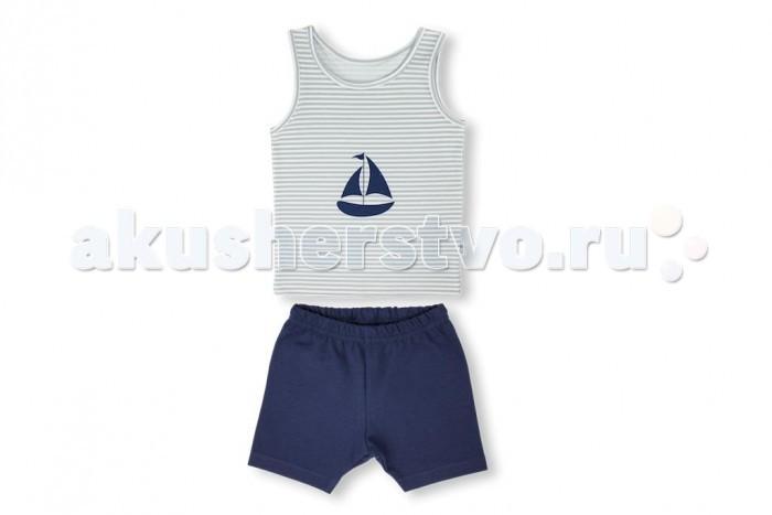Комплекты детской одежды Лео Комплект для мальчика (майка, шорты) Юнга