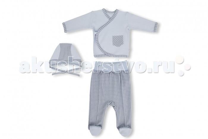 Комплекты детской одежды Лео Комплект для мальчика Фокстрот (распашонка, ползунки, чепчик) little me комплект распашонка и чепчик тонкие для девочки