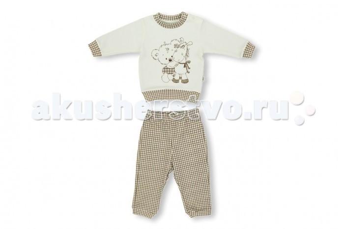 Комплекты детской одежды Лео Комплект Друзья детства (кофточка, штанишки)