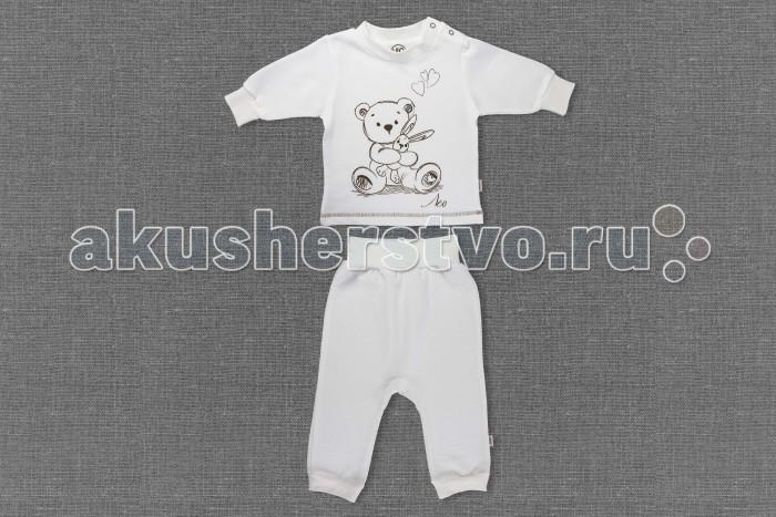 Комплекты детской одежды Лео Комплект из кофточка и штанишек Карамелька 1505-4 карамелька для малышей