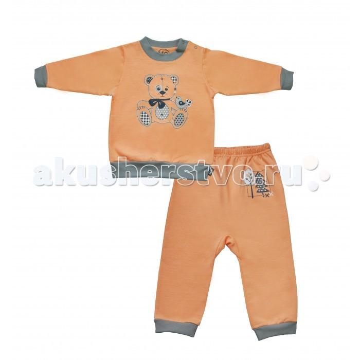 Комплекты детской одежды Лео Комплект Мишка по лесу идет из кофточки и штанишек 1568-9ф мишка косолапый по лесу идет