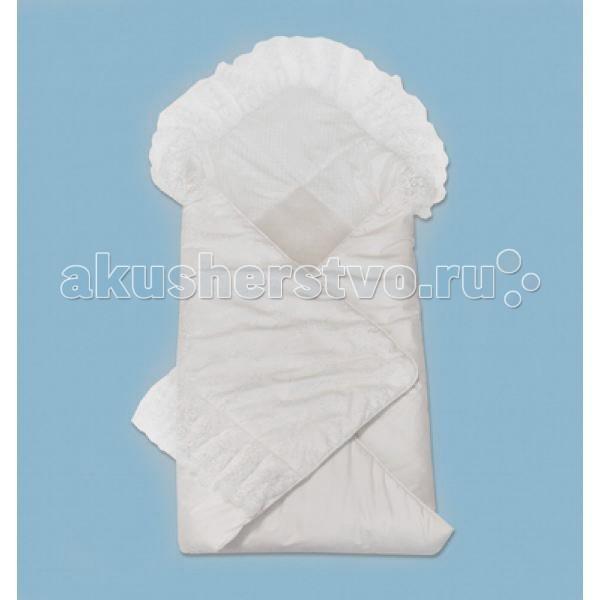 Конверты на выписку Лео Конверт-одеяло Зимний вальс лео плед вязаный лео с рисунком 90 100 30% шерсть 70% акрил синий зайчонок