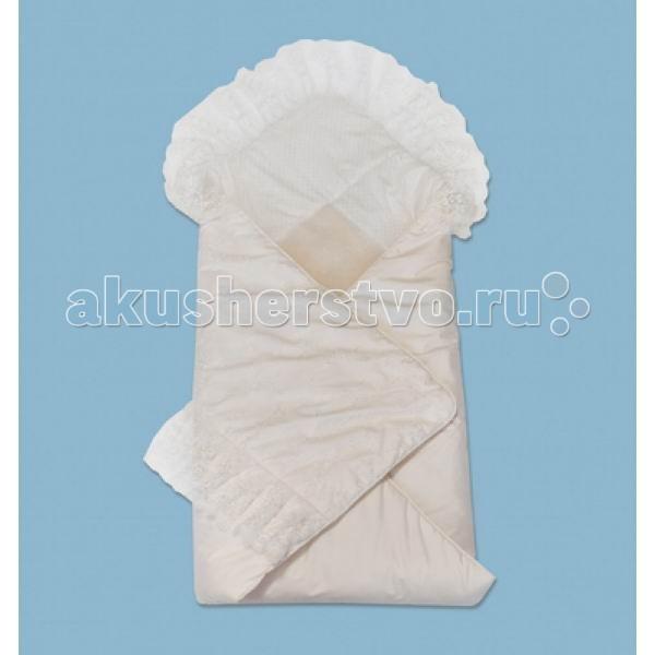 Лео Конверт-одеяло Зимний вальсКонверт-одеяло Зимний вальсУтепленное одеяло легко превращается в конверт.   Кружево создает роскошный стиль.   Вшитая вставка из шерсти служит утеплением в холодное время года.   Конверт закрывается с помощью пояса-резинки.  Состав: верх - курточная ткань, наполнитель - синтепон, подкладка - хлопок 100%, натуральная вставка (овечья шерсть 70%, полиэстр 30%)<br>