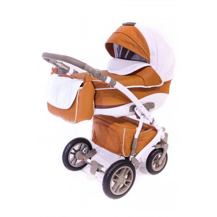 Коляска Lepre Formula 2 в 1Formula 2 в 1Коляска Lepre Formula 2 в 1 остынет незаменимой вещью с появлением малыша.   В коляске предусмотрен удобный механизм складывания, большие надувные колеса.   КОляска подойдет от рождения и до 3-х лет, так как в комплект входит уютная люлька, а когда малыш подрастет, можно будет использовать прогулочный блок коляски. В последнем удобная регулируемая спинка и анатомический матрасик, который защитит сон вашего малыша на прогулке.   Особенности:  Механизм складывания: книжка  Количество колес: 4  Колеса: надувные  Регулировка наклона спинки:да   Регулировка высоты подголовника: да  Вес: 15 кг   Комплектация:  бампер,  дождевик,  накидка на ножки,  москитная сетка,  сумка,  анатомический матрас,  подстаканник<br>