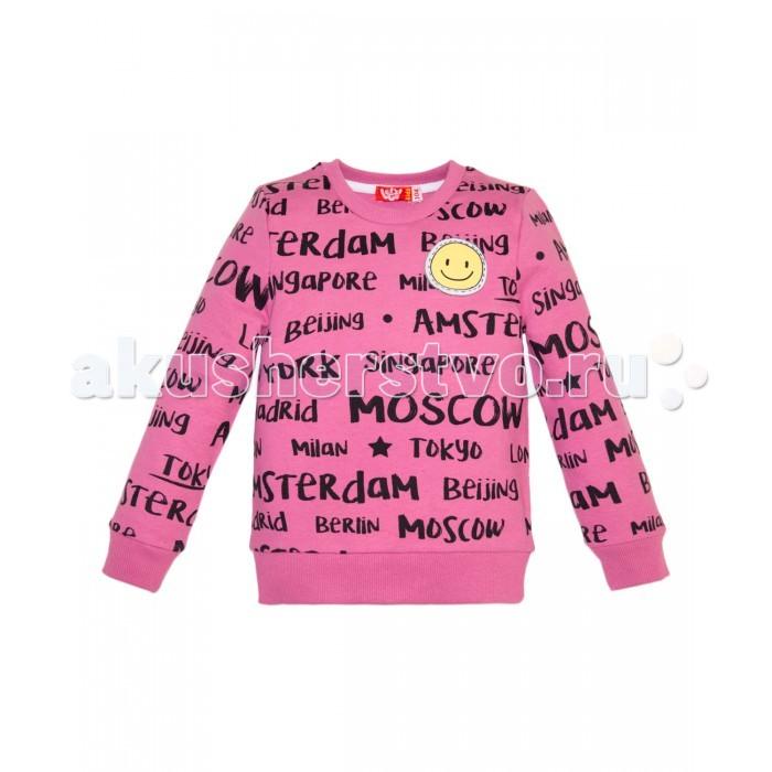 Джемперы, свитера, пуловеры Lets Go Джемпер для девочки 6152 джемперы cudgi джемпер