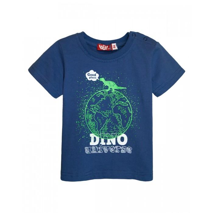 Картинка для Let's Go Футболка для мальчика Dino universe