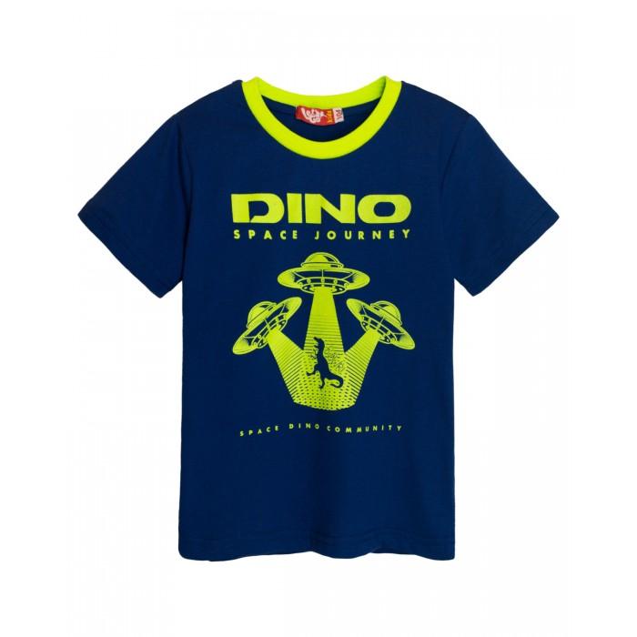 Картинка для Let's Go Футболка для мальчика Dino space journey
