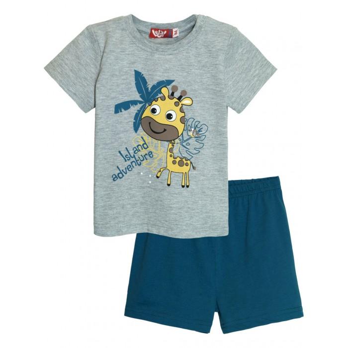 Let's Go Комплект для мальчика футболка и шорты 4259