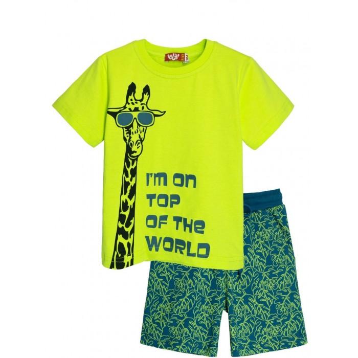 Купить Комплекты детской одежды, Let's Go Комплект для мальчика футболка и шорты 4262