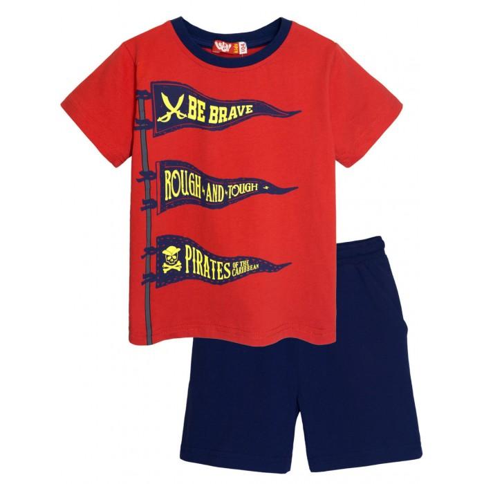 Купить Комплекты детской одежды, Let's Go Комплект для мальчика футболка и шорты 4264
