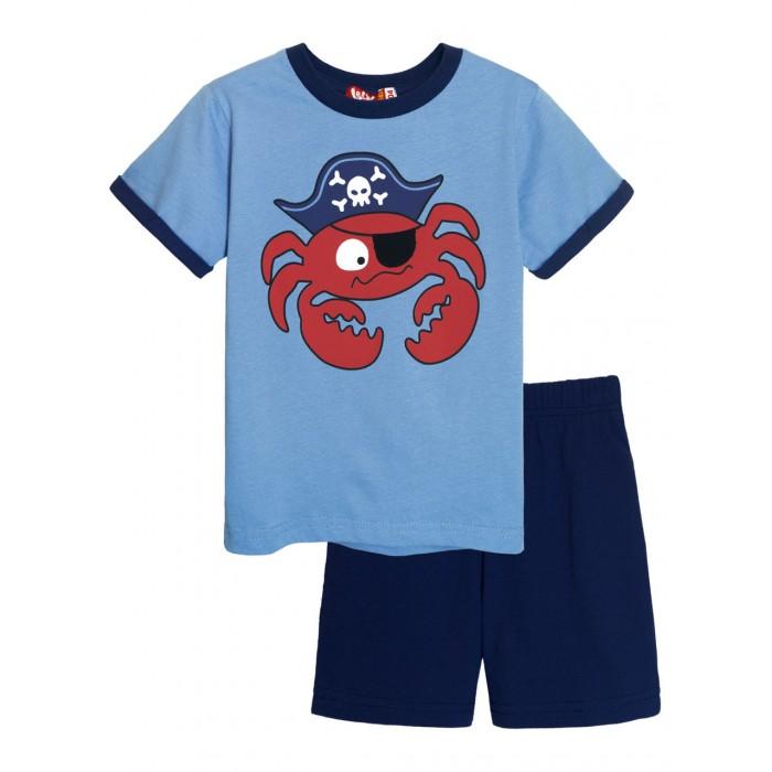 Купить Комплекты детской одежды, Let's Go Комплект для мальчика футболка и шорты 4265