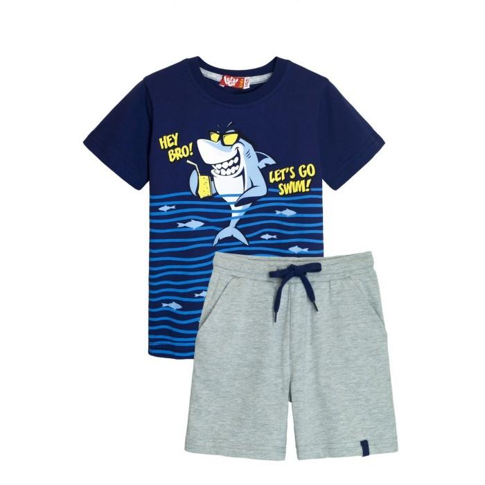 Let's Go Комплект для мальчика футболка и шорты 4266