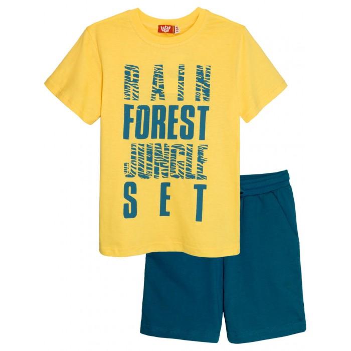 Купить Комплекты детской одежды, Let's Go Комплект для мальчика футболка и шорты 4267