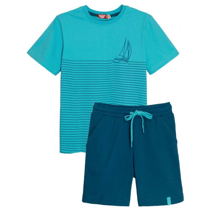 Купить Комплекты детской одежды, Let's Go Комплект для мальчика футболка и шорты 4268