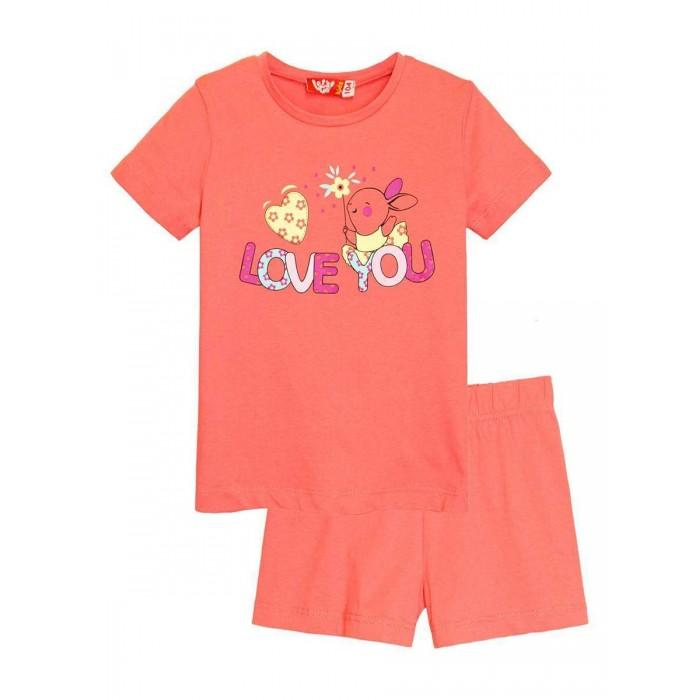 Картинка для Let's Go Комплект (футболка и шорты) для девочки 91106