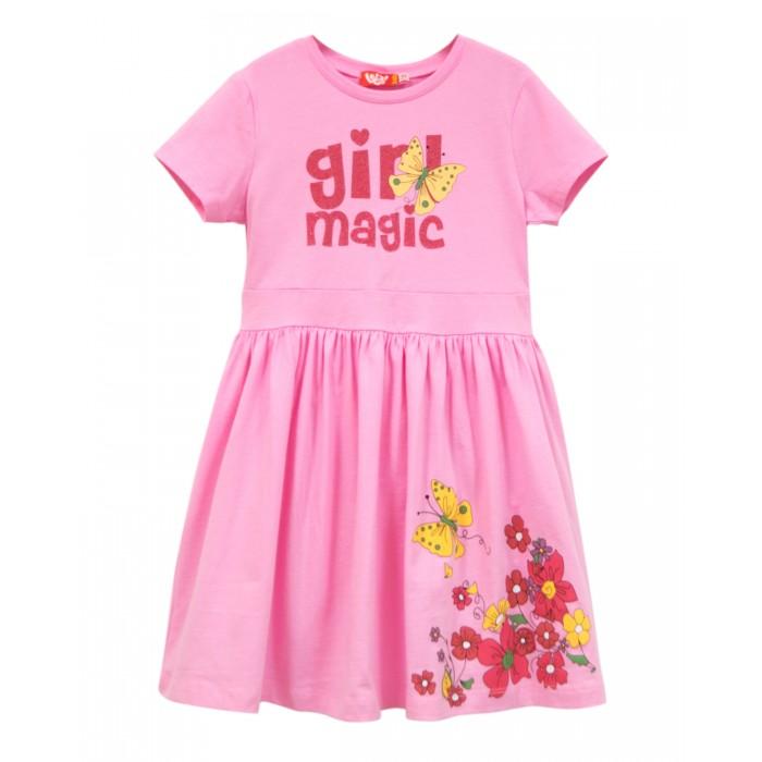 Платья и сарафаны Lets Go Платье для девочки Весна-Лето 8181 платье для девочки let s go цвет голубой 8150 размер 98