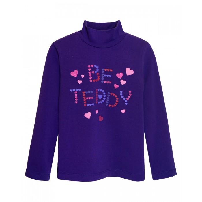 Водолазки и лонгсливы Let's Go Водолазка для девочки Be teddy водолазки и лонгсливы свiтанак водолазка для девочки р857625