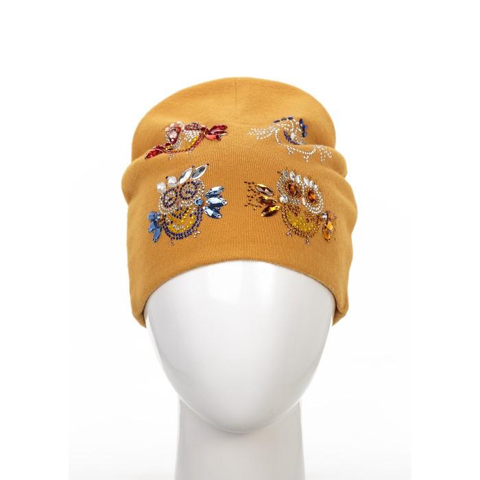 Детская одежда , Шапочки и чепчики Level Pro Kids Шапочка подростковая Совята трикотаж К1 арт: 370803 -  Шапочки и чепчики