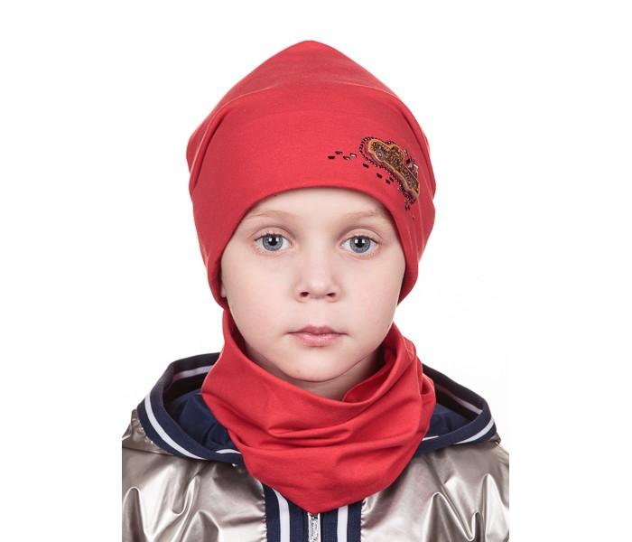 Детская одежда , Шапочки и чепчики Level Pro Kids Шапочка для мальчика Шеврон Машинка арт: 501851 -  Шапочки и чепчики