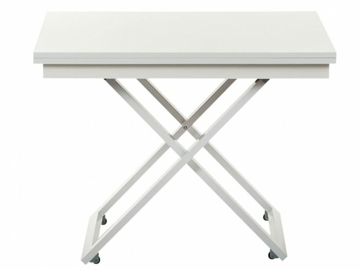 Детские столы и стулья Levmar Стол-трансформер Cross Глянец (опоры белые) недорого
