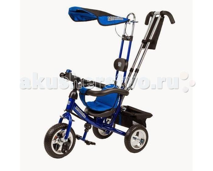 Велосипед трехколесный Lexus Trike miniTrike miniТрехколесный велосипед Racer Trike с управляемой родительской ручкой и удобной корзинкой для игрушек. Регулируемый тент защищает малыша от солнца и дождя.   Характеристики:  Стальная облегченная рама Двойная хромированная родительская ручка управления Раздвижной барьер безопасности Комфортное регулируемое сиденье с мягким вкладышем На руле мягкая поролоновая накладка для защиты головы ребёнка Подголовник Складная подножка с противоскользящими насечками Регулируемый тент На руле металлический звонок На родительской ручке два кармашка Бесшумные колеса из ПВХ не требуют подкачки Багажник  Размеры (дхшхв): 84 х 47 х 105 см Вес: 9.5 кг<br>