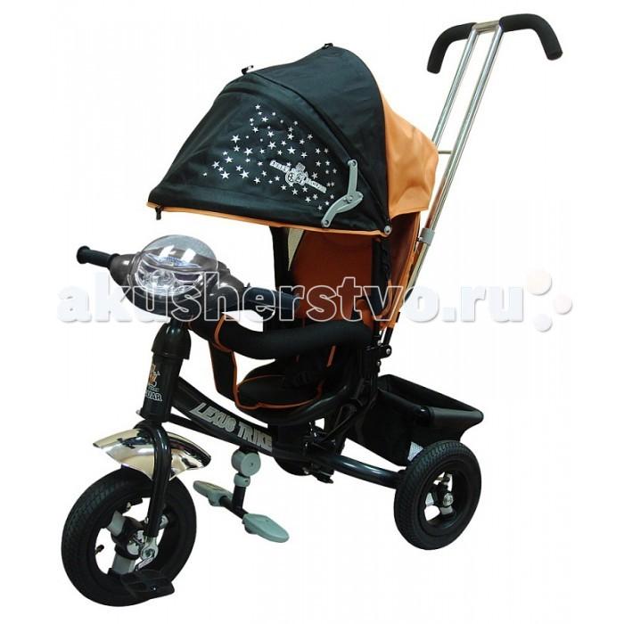 Велосипед трехколесный Lexus MS-0536 ICMS-0536 ICДетский трехколесный велосипед Lexus MS-0536 IC с колясочной крышей, музыкальной панелью, на надувных колесах – настоящее спасение для мам с маленькими детьми.   Главное место для ребенка – анатомическое , дополненное специальным чехлом из ткани. Данный чехол выступает страховкой для маленьких ребят, так как имеет разделитель для ног. К тому же, предусмотрен защитный поручень с мягкой накладкой. Велосипед Funny Jaguar дополнен подголовником, позволяющим ребенку отдыхать во время движения. Для солнечной погоды имеется складной козырек.   Производитель предусмотрел и удобство управления велосипедом для родителей. Надежная хромированная ручка позволяет с легкостью управлять велосипедом, за счет поворота переднего колеса и задавать направление движения.   Детский трехколесный велосипед позволяет ребенку наслаждаться прогулкой и самому участвовать в управлении.<br>