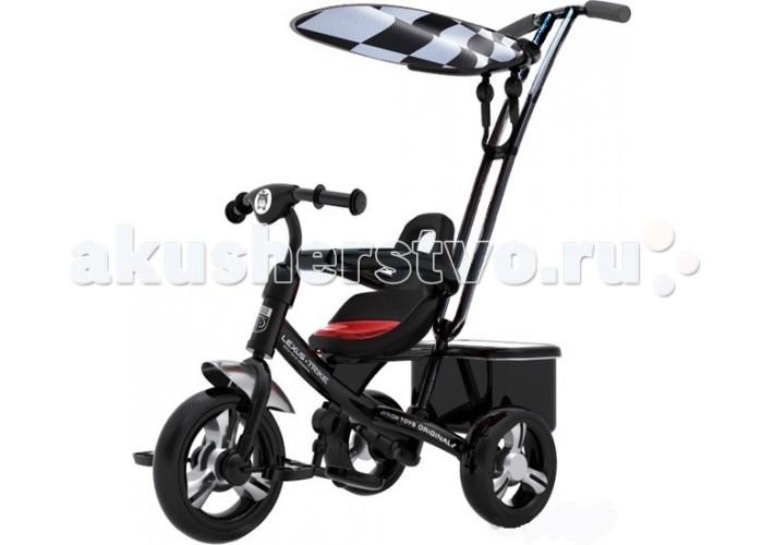 Велосипед трехколесный Lexus Trike Next 2014Trike Next 2014Трехколесный велосипед Lexus Trike Next с управляемой родительской ручкой и удобной корзинкой для игрушек. Регулируемый тент защищает малыша от солнца и дождя.  Характеристики: легкая и быстрая сборка с помощью всего двух инструментов, которые входят в комплект  ручка-толкатель - функция регулировки высоты и измененный угол наклона позволяет ногам родителей не задевать багажную сумку  сидение регулируется по горизонтали в трех положениях и имеет удобный съемный матрас, который надежно крепится к сиденью липучками  бампер безопасности расположен на уровне груди ребенка для его большей защиты  колёса - закрытые подшипники обеспечивают легкое и плавное катание, а новый материал из вспененного ПВХ гарантирует устойчивость к стиранию  подножка - увеличена платформа и изменен угол наклона для максимального удобства ребенка багажная сумка выдерживает еще больше груза (до 2, 5 кг) благодаря обновленной системе крепежа к сидению  защита от подделок - объемное тиснение, выполненное в форме узнаваемого медвежонка на руле и на спинке сиденья легко и эффектно выделяет оригинал модели среди множества подобных моделей  велосипед сохранил и улучшил основные преимущества прошлой моделей: функция «свободное колесо», возможность прокручивания педалей без движения велосипеда, регулируемая по высоте ручка  ремни безопасности 3-х точечные   Переднее колесо 10 дюймов  Задние колеса 8 дюймов  Максимальная нагрузка 50 кг<br>