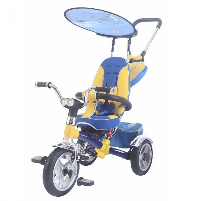 Велосипед трехколесный Lexus Trike Original MS-0595Trike Original MS-0595Первый 3-х колесный велосипед из коллекции Lexus Trike MS-0595 - велосипед-коляска. В производстве этого велосипеда мы использовали новейшие инновационные технологии и материалы, например Карбон, что позволило уменьшить вес велосипеда.   Но, главной изюминка этого велосипеда сиденье. Впервые в нем можно изменять угол наклона спинки, вплоть до горизонтального, а также устанавливать сиденье лицом к дороге или к маме.  задние два колеса хромированные крылья тент страховочный обод ручка управления устанавливаются по системе «до щелчка», по - этому сборка не займет более 5 минут  Не может не привлечь внимание новый стильный дизайн подножек с креплением на передней вилке. Для плавности хода на задние колеса установлены амортизаторы.   Впервые в коллекции Lexus Trike MS-0595 на руле установлена музыкальная панель с любимыми песнями из мультфильмов и LED фара.  Размеры (дхшхв): 90 х 53 х 102 см Вес: 9.2 кг<br>