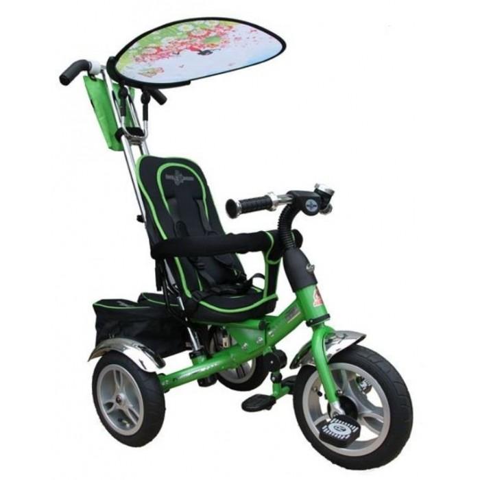 Велосипед трехколесный Lexus Trike Original VipTrike Original VipТрехколесный велосипед Original Vip с управляемой родительской ручкой и удобной корзинкой для игрушек. Регулируемый тент защищает малыша от солнца и дождя.   Характеристики: хромированная облегченная рама удобные, протовоскользящие складывающиеся подножки мягкое сиденье, регулируемое относительно руля в трех положениях в зависимости от роста ребенка удобная и очень прочная родительская ручка управления, на нее можно опираться, она легко выдержит нагрузку взрослого человека легкий, складывающийся тент с фотопринтом защитит от дождя и солнца бампер-ограничитель для дополнительной безопасности малыша большие надувные колеса диски цвета хром педали с рефлением сумочка для мелочей багажная корзина  Размеры (дхшхв): 90 х 53 х 102 см Вес: 9.5 кг<br>