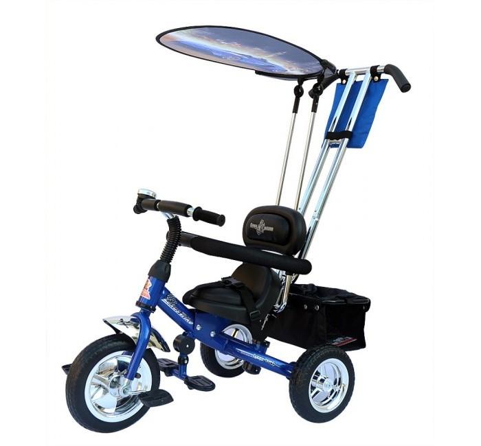 Велосипед трехколесный Lexus Trike Original VoltTrike Original VoltТрехколесный велосипед Original Volt с управляемой родительской ручкой и удобной корзинкой для игрушек. Регулируемый тент защищает малыша от солнца и дождя. Новый велосипед Volt заряжает своей энергией, зовет в дорогу!  Характеристики: удобное мягкое сиденье, как на велосипеде Grand New Air регулируемое относительно руля в трех положениях в зависимости от роста ребенка хромированная облегченная рама, покрытая краской с блеском, которая очень красиво переливается на солнце удобные, противоскользящие складывающиеся подножки трехточечные ремни безопасности удобная и очень прочная родительская ручка управления, на нее можно опираться, она легко выдержит нагрузку взрослого человека легкий, складывающийся автономный (крепиться к спинке сиденья, а не к ручке управления) тент с фотопринтом защитит от дождя и солнца бампер-ограничитель для дополнительной безопасности малыша большие колеса из вспененного ПВХ диски цвета хром педали с рифлением звонок сумочка для мелочей багажная корзина  Размеры (дхшхв): 90 х 53 х 102 см Вес: 9.2 кг<br>
