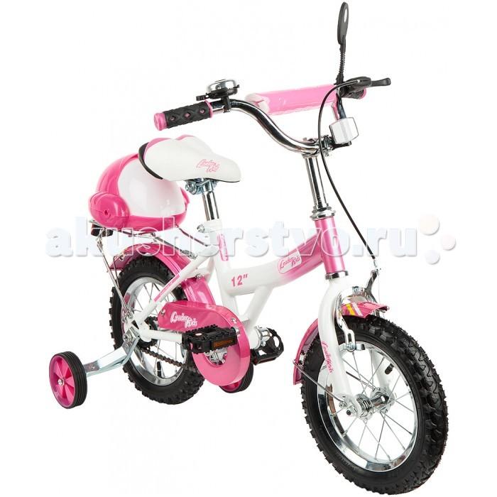 Велосипед двухколесный Leader Kids G12BD13G12BD13Двухколесный велосипед Leader Kids для детей в возрасте от 2 до 4 лет. Благодаря съемным боковым колесам отлично подойдет для обучения катанию. Защита цепи и тормоз гарантируют стабильность и безопасную езду.    Особенности:  возрастная группа: от 2 до 4 лет передний тормоз: ободной механический колеса: надувные резиновые диаметр колес: 12  багажник   клаксон(звонок)   тренировочные колеса  крылья<br>