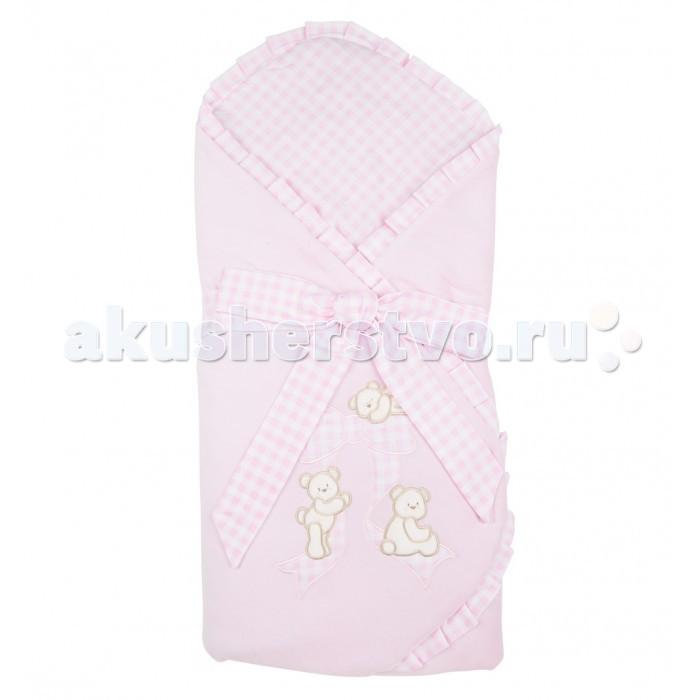 Детская одежда , Конверты на выписку Leader Kids Конверт-одеяло на выписку Мишутка арт: 91365 -  Конверты на выписку