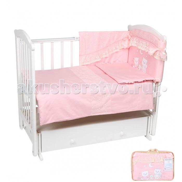 Комплект в кроватку Leader Kids Веселые мишки (7 предметов)
