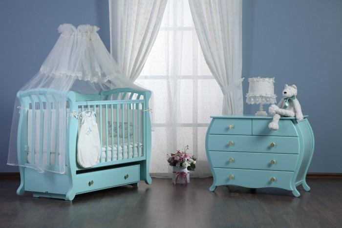 Детская мебель , Комоды Liel Excellence Сапфир пеленальный арт: 528891 -  Комоды