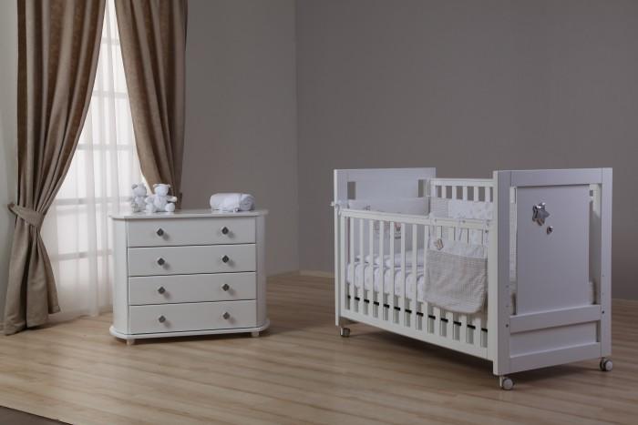 Детская мебель , Комоды Liel Excellence со съемной пеленальной доской LE121.1 арт: 530956 -  Комоды