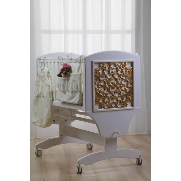 Детская мебель , Колыбели Liel Excellence Люлька Исида Куст маятник поперечный арт: 490946 -  Колыбели