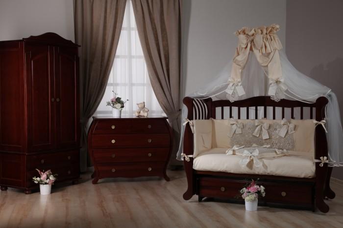 Детская мебель , Детские кроватки Liel Excellence Премьера маятник поперечный арт: 528881 -  Детские кроватки