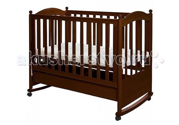 Детские кроватки Кубаньлесстрой АБ 18.1 Семицветик качалка с ящиком